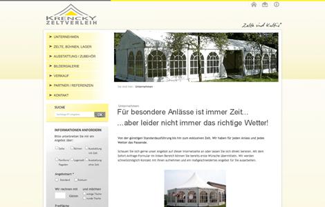 Zeltverleih Krencky in Bielefeld: Für jede Feier das passende Zelt