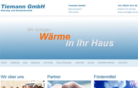 Energie sinnvoll und preisgünstig nutzen mit der Tiemann GmbH